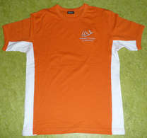 Tee-Shirt bicolore orange