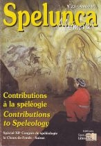 Contributions à la spéléologie - Contributions to speleology